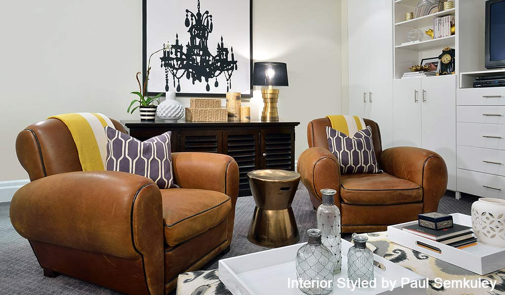 Interior Styled by Paul Semkuley - 2015 Design Trends